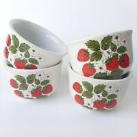 Mccoy Ceramic Pottery Strawberry Dish