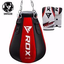 RDX Heavy Maize Punching Bag Chain Set Kickboxing Gloves Training MMA Unfilled U