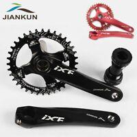 IXF 104bcd MTB Bike Crankset Narrow Wide Single Chainring 170mm Crank Set BB