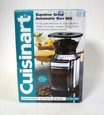 NIB Cuisinart Supreme Grind Automatic Burr Mill Bean Grinder CCM-16pc  NOS