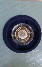 Medaglia Giubileo 2000 – Iubilaeum A.D. 2000 - Gesù Cristo in argento 925