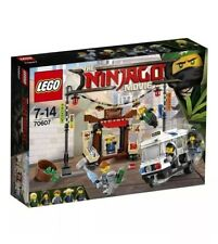 Lego 70607 Ninjago City Chase Toy Construction Builidng Kit Set 5 Minifigures