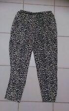 Ladies size 12 animal print pants - Pure Hype