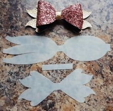 Beautiful Tri Tailed Hairbow Template- Make Your Own Bows