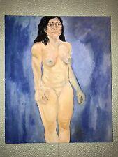 Nu femme peinture à l'huile sur toile 61x52cm nu Act