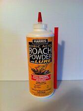 Harris Roach Powder 99% Boric Acid QTY2 kill roaches, waterbugs,ants, silverfish