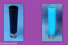 Glasvase Blumenvase Modern Zeitlos  Glas Massiv  25 cm  Einzeln oder 2er-Set