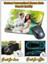 SUPERB QUALITY CUSTOM PERSONALISED COMPUTER MOUSE MAT / MATS, NON SLIP   ⭐⭐⭐⭐