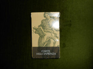 TAROCCHI CARTE CARTOMANZIA: CARTE DELLA SAPIENZA - LO SCARABEO- 32 CARTE