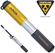 TOPEAK Race Rocket PUMP 120psi Road Racing Bike / MTB BICICLETTA TUBO FLESSIBILE ALLUNGABILE
