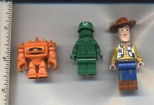 Toy Story LEGO Chunk Woody Dirt Stains Green Army Man Medic with Backpack