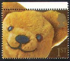 GB 1991 Teddy Bear/Toys/Smiles/Greetings 1v (n30655)