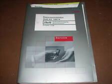 Werkstatthandbuch Audi A3 Kraftstoffversorgung ,ab 1997