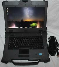 Dell XFR e6420 Rugged Laptop i7, 8GB RAM USB Ports loose, Touchscreen