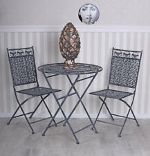 Garden Furniture Set Table Two Chairs and Balcony Seating Area
