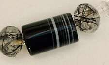 Banded Onyx Interchangeable Clasp