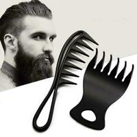 Portable Men Hair Texture Comb Wide Tooth Man Oil Head Styling Kit Comb Hai Z0Z0
