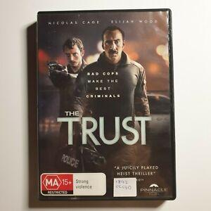 The Trust | DVD Movie | Nicolas Cage, Elijah Wood | Thriller/Crime | 2016 | PAL
