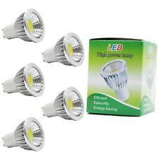 5x GU10 LED Lampen Spotlight Leuchtmittel,Kaltweiß 6000K,3W Ersetzt 20W Halogen