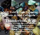 CD - NSW Gold Thunderbolts Way Region 20 eBooks - 62 FREE Fossicking Maps