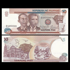 Philippines 10 Piso, 2001, P-187i, UNC