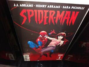 Spider-Man 1-5 Complete JJ Abrams Comic Lot Run Set Marvel 1st Prints