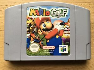 Mario Golf Nintendo N64 Game PAL Cart Only VGC