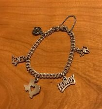 James Avery Texas Theme Western Charm Bracelet Some Retired Charms