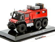 Petrovich 354-60 Off Road Truck All Terrain Vehicle Red/Black DIP Models 235460