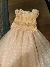 Bmb Couture Toddler Girls Tulle Dress...size 4