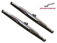 MG Midget 1961-1968 A Pair Of Stainless Steel Wiper Blades