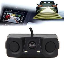 Multifunction 3in1 Car Parking Radar Reverse Backup Rear View Camera Waterproof