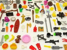 Lego 100 pce Minifigure Accessories Pack Random Mix - GREAT GIFT! FREE P&P