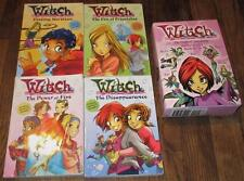 LOT/4~W.I.T.C.H.~THE MAGIC OF FRIENDSHIP~PAPERBACK BOOKS SET BOXED CASE ~1 2 3 4