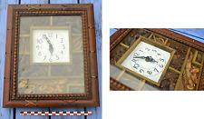 Horloge murale cadre nature morte, 31 x 26,5 cm, mécanisme standard à changer,
