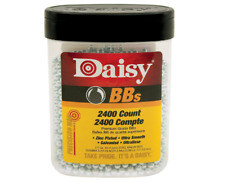 DAISY Zinc Plated BB's 2400 Ultra Smooth Count Steel Silver 4.5 mm 177 cal. Gift
