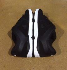 DVS Argon Size 12 Black White Nubuck Militia Havoc Transom BMX DC Skate Shoes