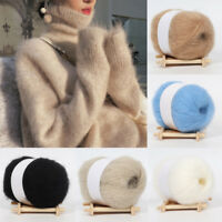 Mohair Cashmere Knitting Wool Yarn DIY Shawl Scarf Crochet Thread
