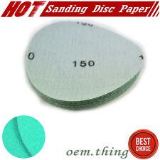 """x10 Pcs Dry Body Repair Sanding Sheets Auto Sand Paper Disc for 150 Grit 5"""" PSA"""