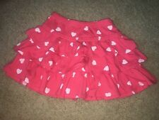 NWOT Mini Boden Girl's Ruffle Jersey Skirt W/shorts, Size 4-5