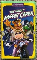 The Great Muppet Caper (VHS, 1993) Clamshell Jim Henson Video Collectible