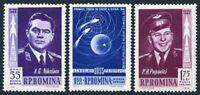Romania C123-C125,MNH.Michel 2096-2098. 1962.Andrian Nikolayev,Pavel Popovich.