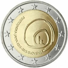 2 EURO ESLOVENIA 2013. MONEDA CONMEMORATIVA - CUEVA POSTOJNA. S/C