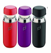 Grunwerg Drinkpod 200ml Stainless Steel Vacuum Flask Various Colours