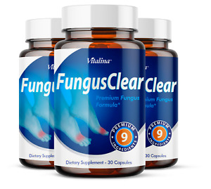 (3 Pack) Official Fungus Clear Probiotic, for Men and Women, 3 Month Supply