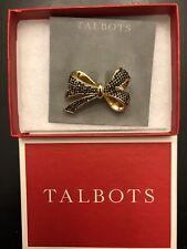 Broach - New in Box Talbots Gold Ribbon Pin /