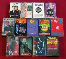 13 Rap Cassette LOT Heavy D & The Boyz GANG STARR Run-DMC Queen Latifah TLC etc