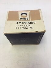 NOS GM ACDelco 17065880 EGR Valve Kit 17062361 1979 Chevrolet GMC Truck 8 Cyl