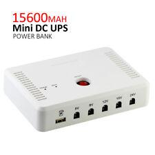 15600MAH MINI DC UPS/5V update 9V 12V 15V 24V Attendance machine powerbank