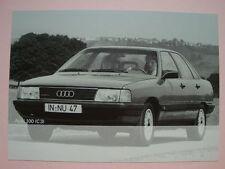 AK AUDI | Audi 100 C3 | sehr gut | 10,5 x 14,7 cm